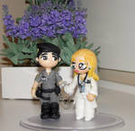 couple medical and police