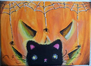 Scaredy Cat! by MidnightmareDream
