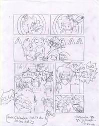 GG:Domon and pink hair by Ryu-Okami
