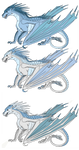 Frost and Icicles 2nd Clutch by PoppywhisperSkywish