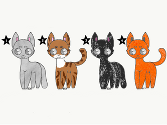 Free Cats by PoppywhisperSkywish