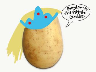 Potato Goddess by PoppywhisperSkywish