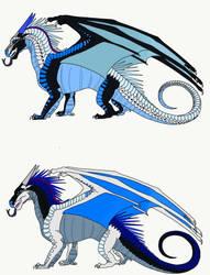 Frosts Clutch with DragonRiderWarriors dragon