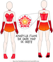 Amaryllis Flame Outfit Final