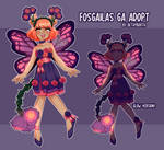 [OPEN] Fosgailas GA Adopt | Sunset Rose by Bethy-Booth