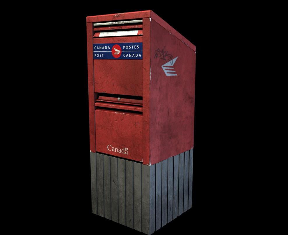 Canada Post Mailbox By Senor-Snoopy On DeviantArt
