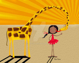 My pet is a girafe by Ritex82