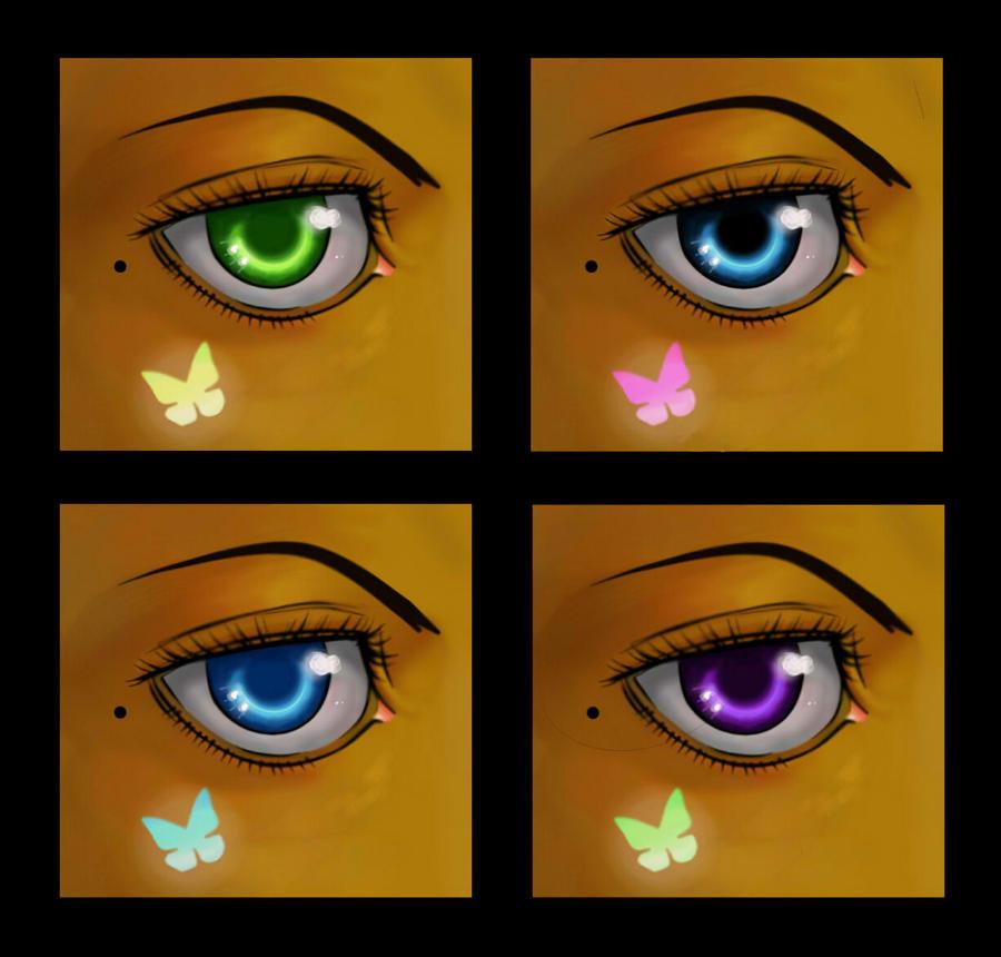 Eye Chart by Aqua-Et-Vita