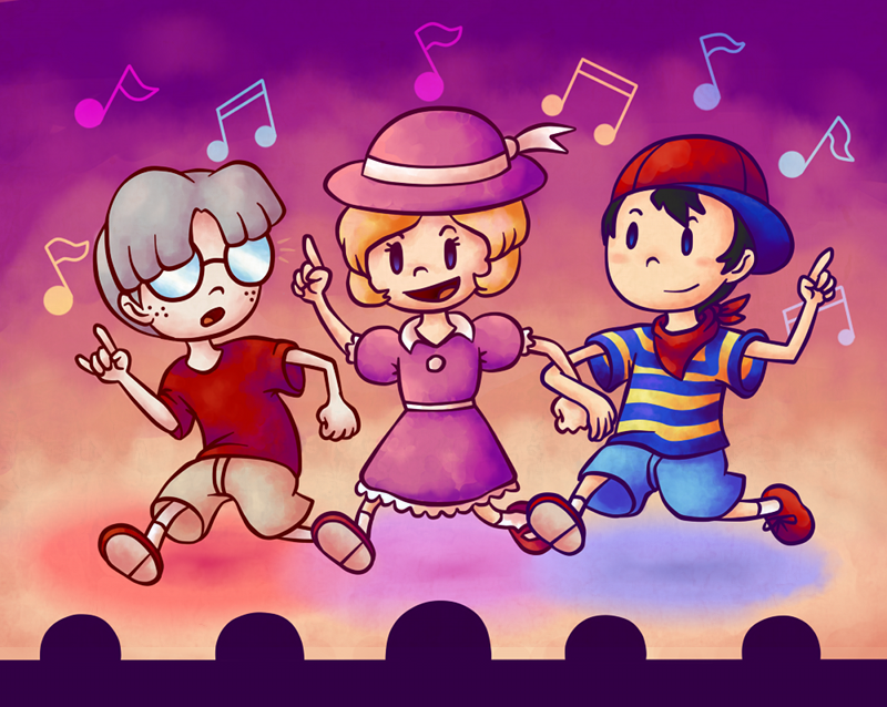 Mother 1: Dancing at the Club by Aviarei on DeviantArt