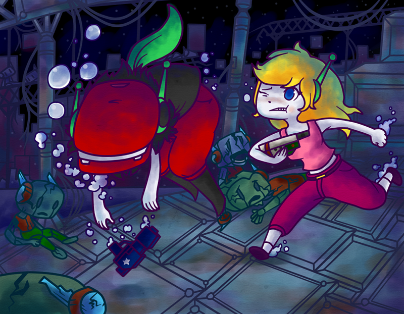 Cave story curly brace misery