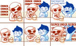 Homestuck - Cereal Time