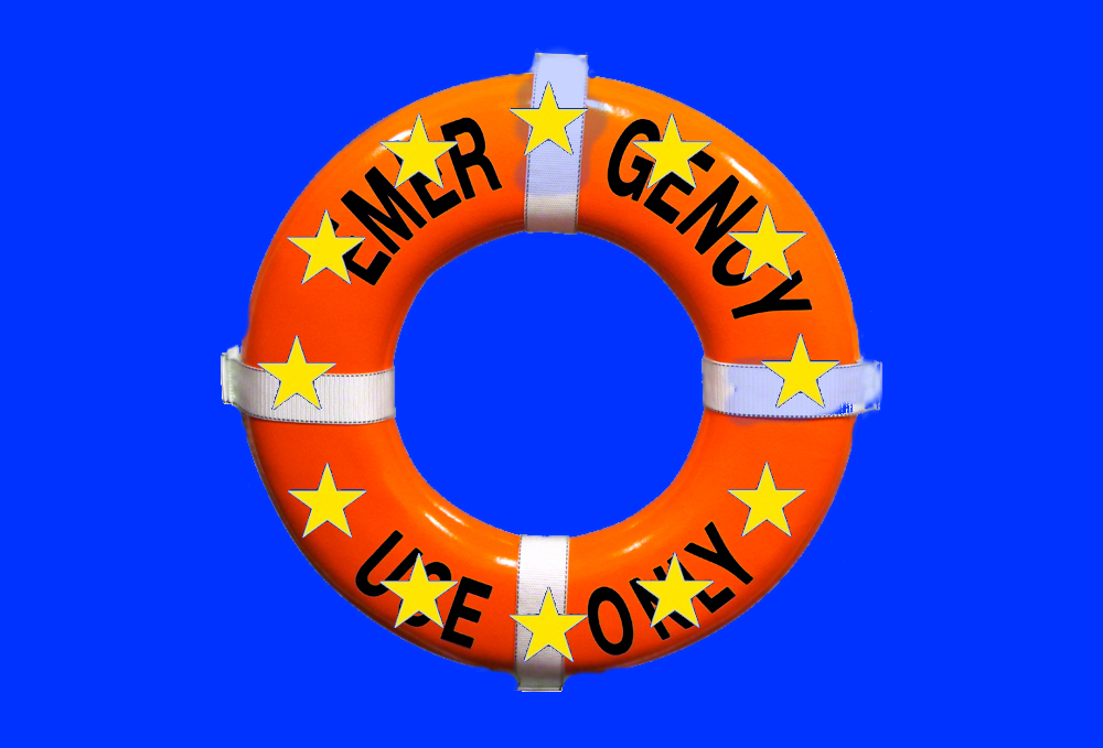 New EU Flag post Brexit - For Emergency Use Only by muffinn2