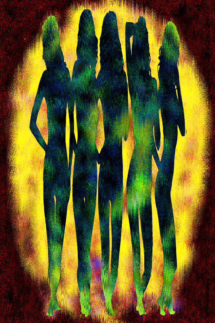 Five figures by muffinn2