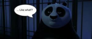 Kung Fu Panda: Po's looking...