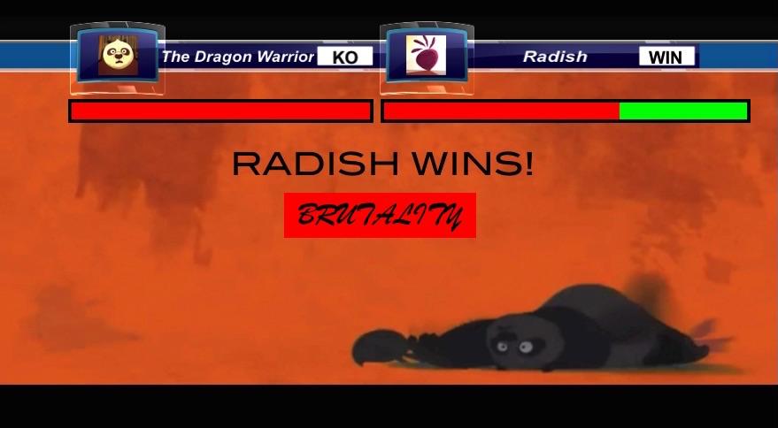 The Dragon Warrior V Radish Death Match by Destiny3000