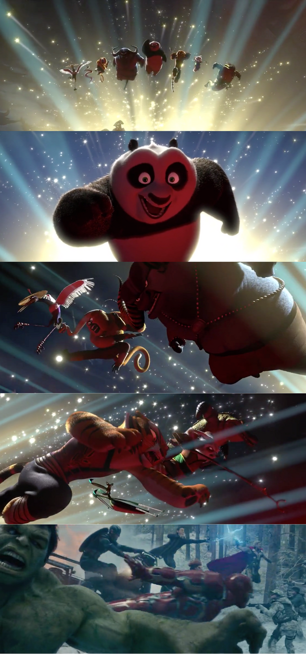 Kung Fu Panda 2 Does Avengers Age Of Ultron by Destiny3000