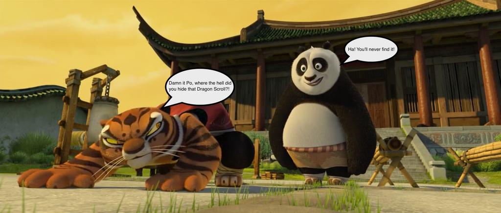 Kung fu panda tiger - photo#11