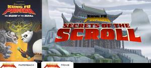 Dreamworks Kung Fu Panda: The Secret Of The Scroll