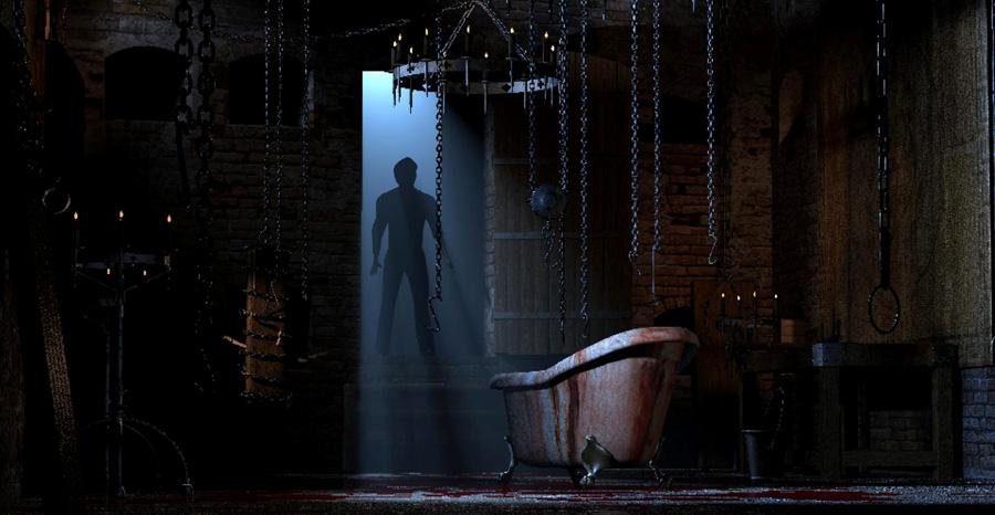 Erotic torture chamber anime