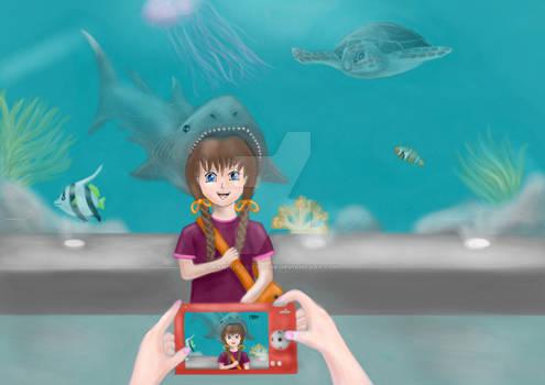Milly Muddle Visits the Aquarium 2