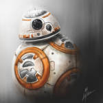 BB8 from Star Wars: The Force Awakens