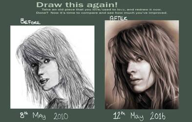 My First 'Draw This Again' Meme! by Pandoras-Encore