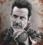 Negan (Jeffrey Dean Morgan) The Walking Dead