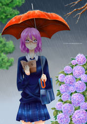 Contest: Yukie Uchiya by de-yuli
