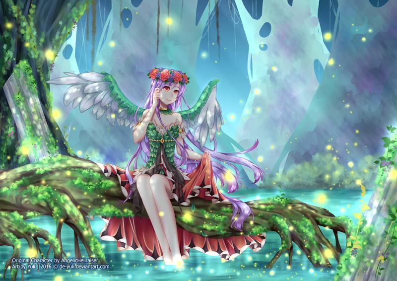Contest : Sparkle Lake by de-yuli