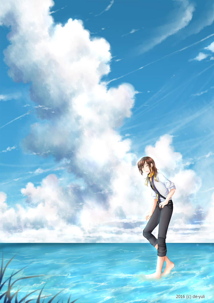 Contest : Blue Summer by de-yuli