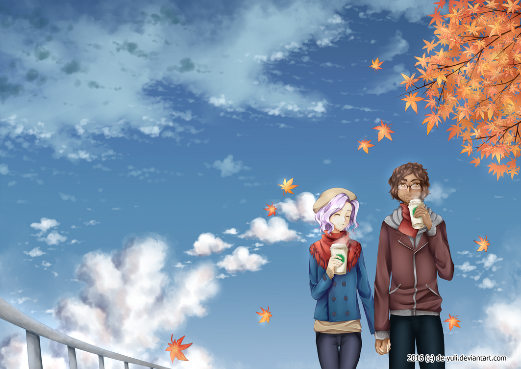 Contest - One Fine Day in Autumn by de-yuli