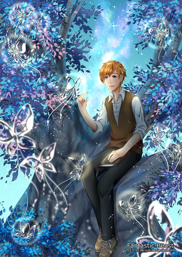 Sparkling Butterfly by de-yuli