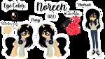 Noreen Ref Sheet