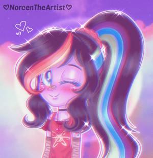 Rainbow Being Cute