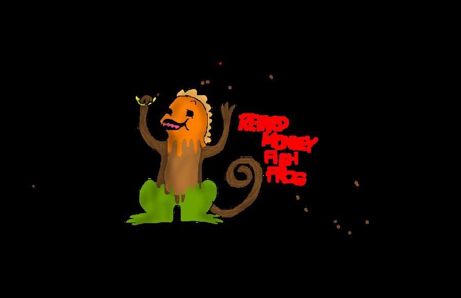 retarded monkey fish frog