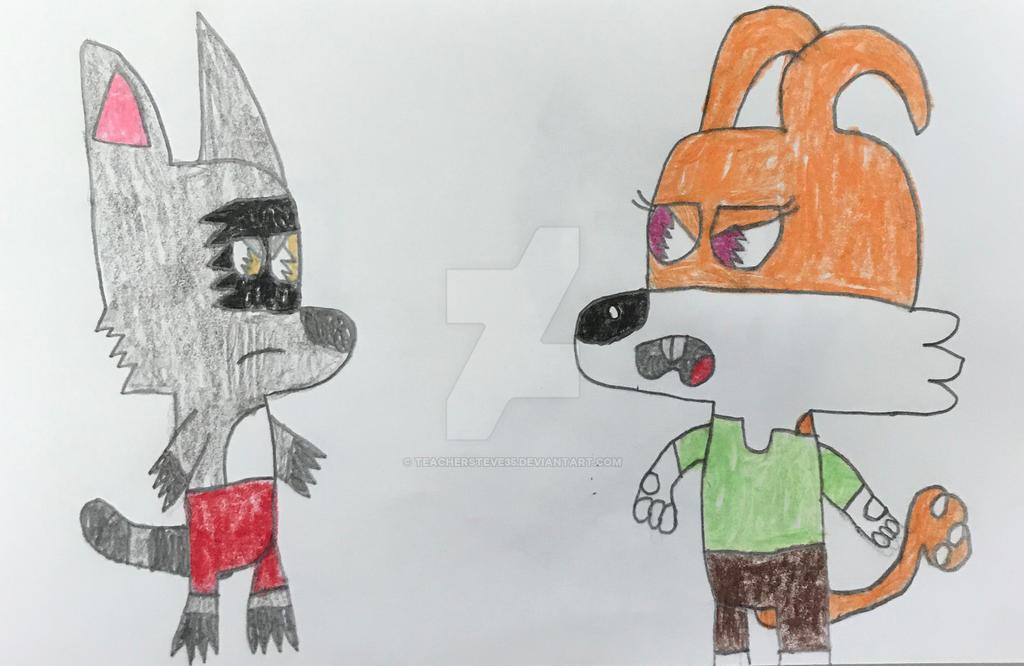 Flynn vs Lisa by TeacherSteve35