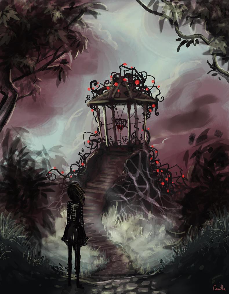 Kiosque a Coeur by Ludmila-Cera-Foce