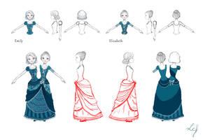 Waltz Duet - Emy and Ely modele sheet