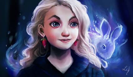 Luna Lovegood by Ludmila-Cera-Foce