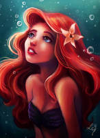 Ariel with hope