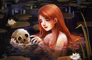 Whisper of a mermaid by Ludmila-Cera-Foce