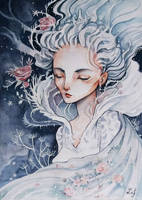 The Snow Queen by Ludmila-Cera-Foce