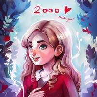 Thank you (2000 watchers!) by Ludmila-Cera-Foce