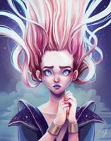 The Night Pray by Ludmila-Cera-Foce