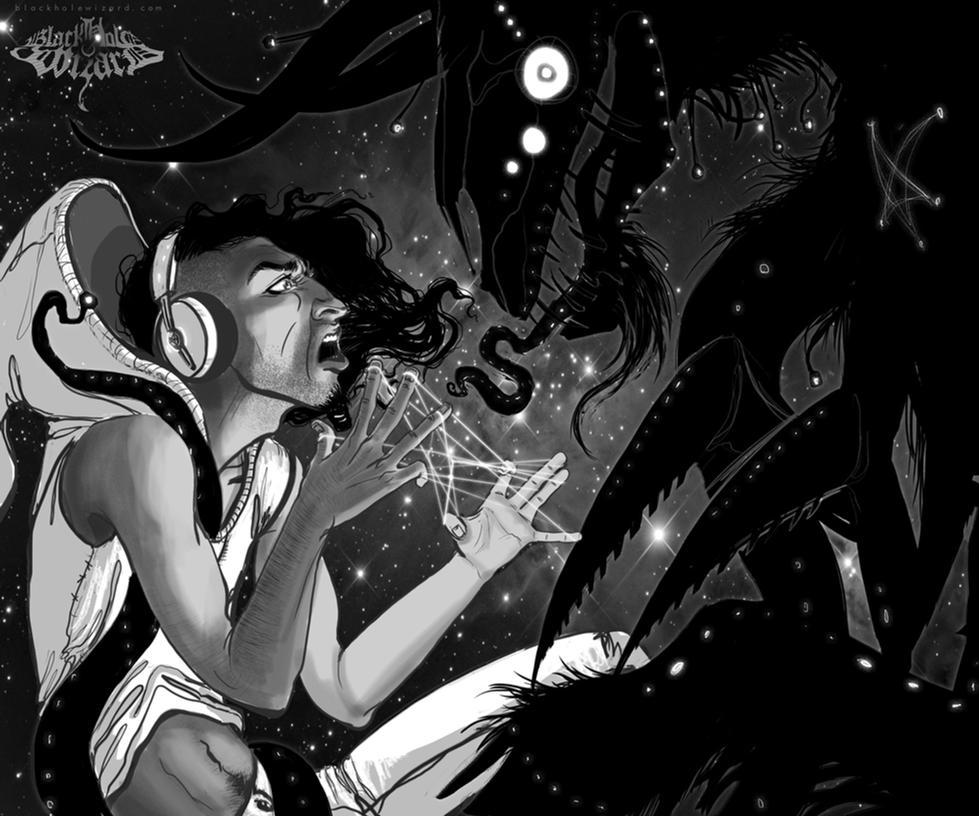 Black Hole Wizard by vebelfetzer