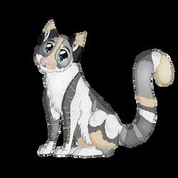 Kitnoir Chibi by WoofMewMew