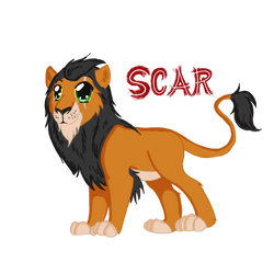 Scar Chibi by WoofMewMew