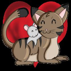 Friendship by WoofMewMew