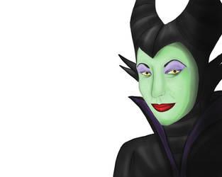 Maleficent WIP by WoofMewMew