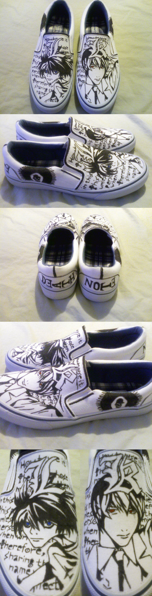 Death Note Shoes by Queen-Of-Anime